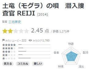 土竜の唄 潜入捜査官REIJIの評価